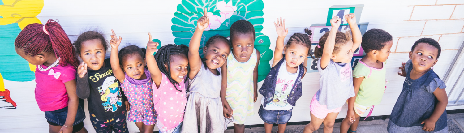 Cape Town Kids at Child Care Centre