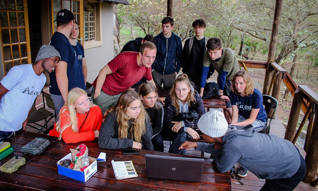 Ecosystem services research students in Eswatini (Swaziland)