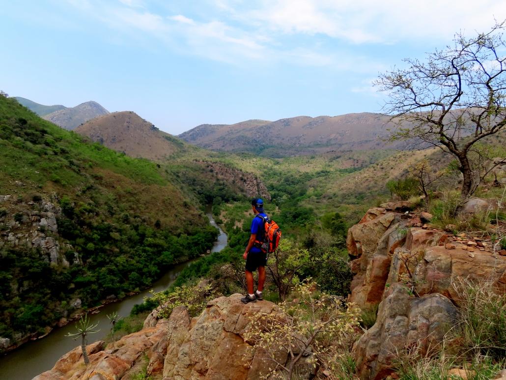 Slackpacking in Eswatini (Swaziland) Ngwempisi Gorge
