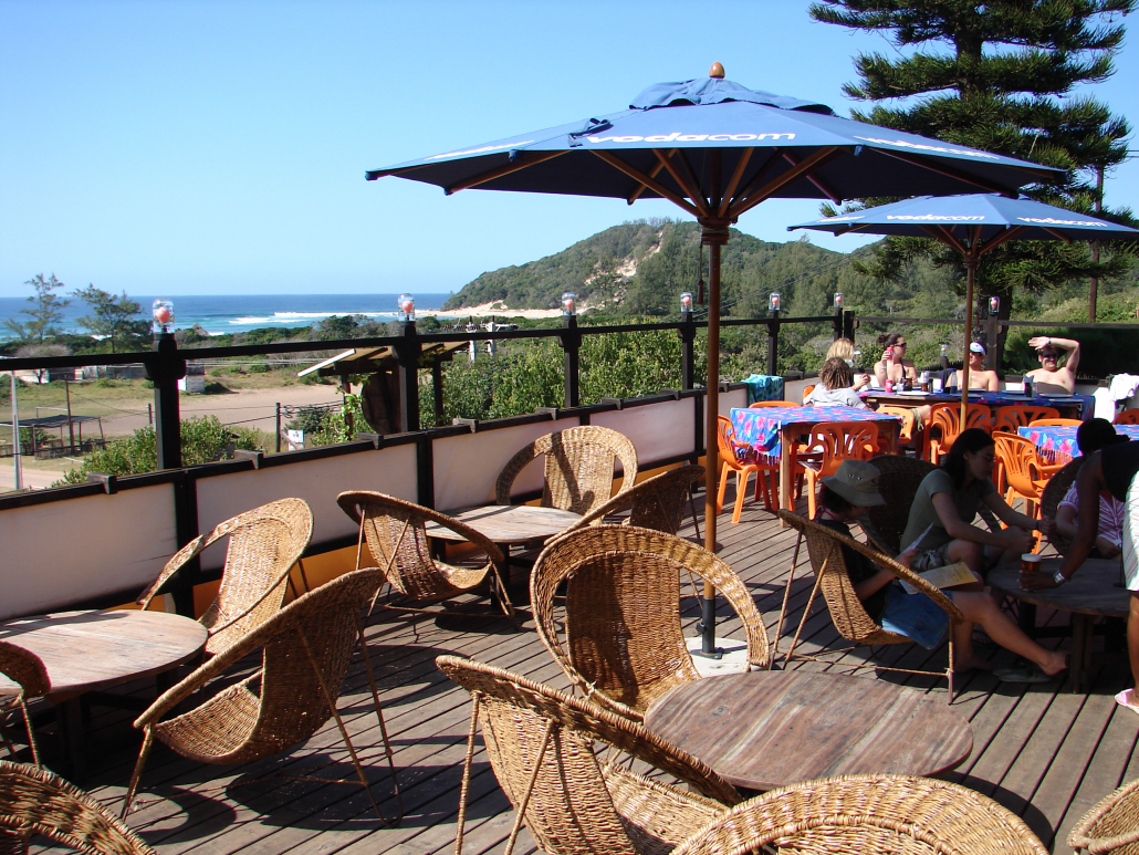 One of the restaurants found in Ponta d' Ouro
