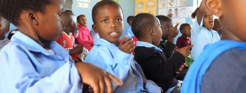 NCP Children in class